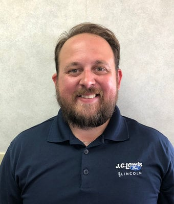 Sales Associate Zach Clarkson in Sales at JC Lewis Ford Lincoln of Statesboro