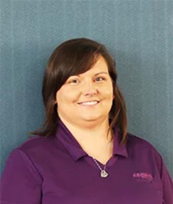 Service Advisor Nicole McBride in Service at JC Lewis Ford Lincoln of Statesboro