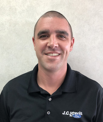 Finance Manager Steven Hewitt in Finance at JC Lewis Ford Lincoln of Statesboro