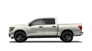 brand new white 2018 Nissan Titan SL Midnight Edition