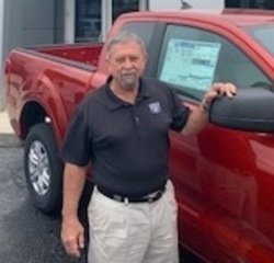 Sales Consultant Charles E (Chuck) Wilson in Professional and Courteous Sales Staff at Kings Colonial Ford