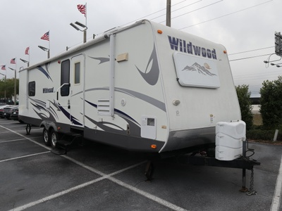 Used 2009 Forest River RV Wildwood LA 292FKDS Travel Trailer For Sale at Dimmitt Chevrolet in Clearwater, FL