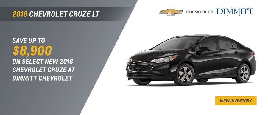2018 Chevrolet Cruze LT at Dimmitt Chevrolet in Clearwater, FL