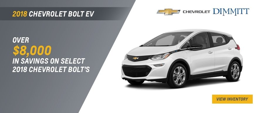2018 Chevrolet Bolt EV at Dimmitt Chevrolet in Clearwater, FL