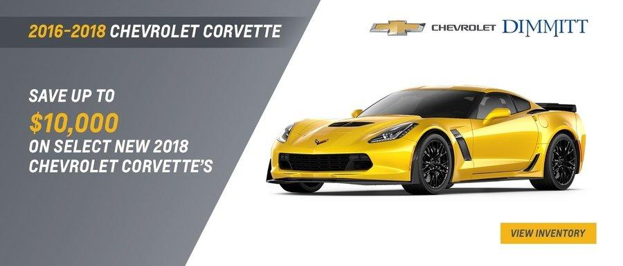 2018 Chevrolet Corvette at Dimmitt Chevrolet in Clearwater, FL