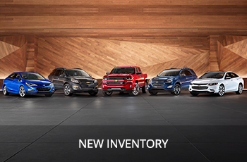 Shop our New Chevrolet Inventory