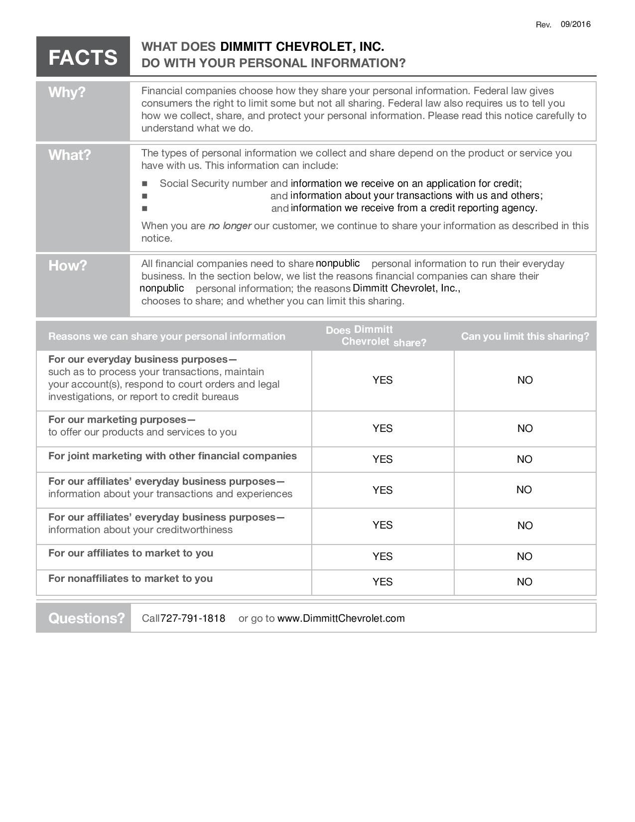 privacy notice pdf page 1
