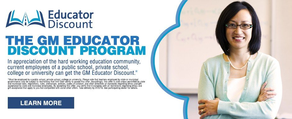 GM Educator Discount at Dimmitt Chevrolet in Clearwater, FL.