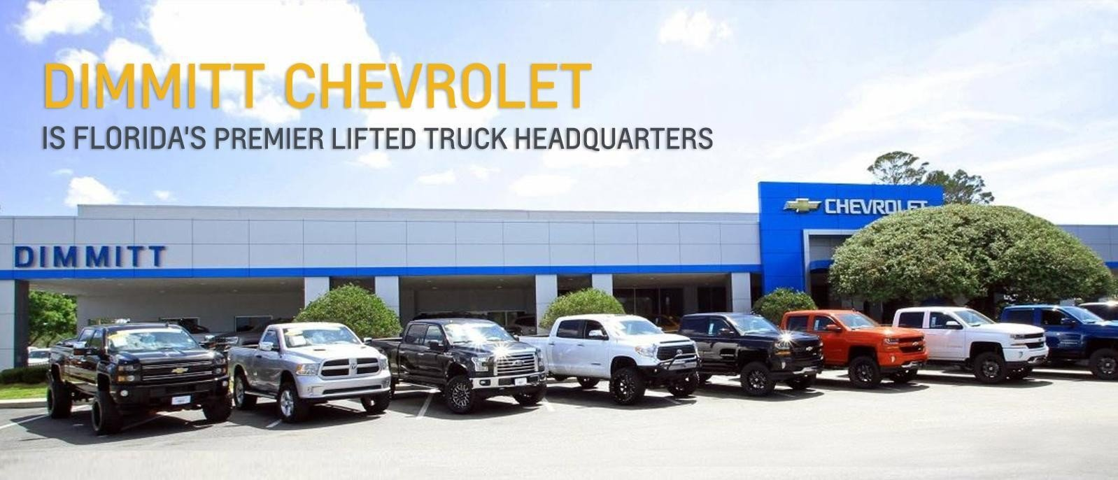 Lifted trucks for sale at Dimmitt Chevrolet in Clearwater, FL - Tampa Bay.