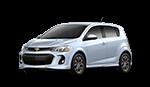 Silver 2018 Chevrolet Sonic