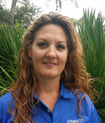 Administrative Assistant Tiffany Davis in Service at Dimmitt Chevrolet
