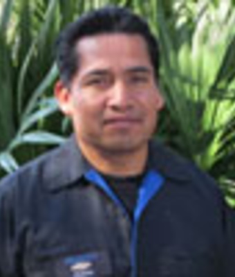 Building and Grounds Maintenance Pablo Lara in Service at Dimmitt Chevrolet
