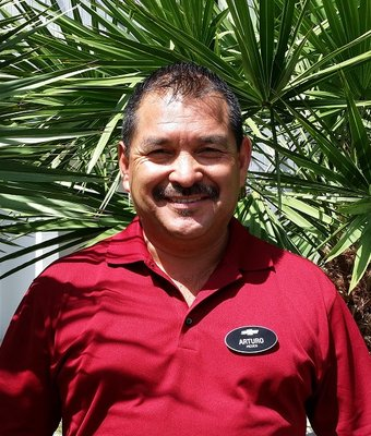 Product Specialist Arturo Zamudio in Sales at Dimmitt Chevrolet