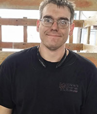 GM Certified Service Technician Derek Adams in Service at Dimmitt Chevrolet