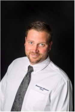 Service Advisor Blaine Brandon in Service at Shawnee Mission Ford