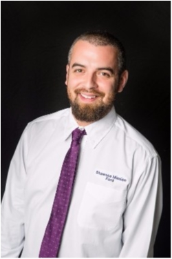 Assistant Service Manager Daniel Webb in Service at Shawnee Mission Ford
