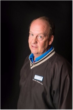 Counterperson Jerry Conner in Parts at Shawnee Mission Ford