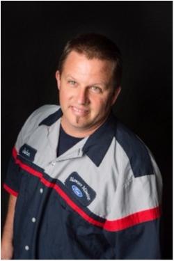 Body Shop Technician Erik Jensen at Shawnee Mission Ford