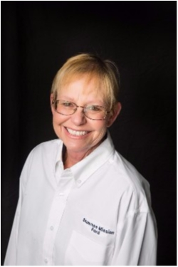 Service Advisor Judy Adams in Service at Shawnee Mission Ford