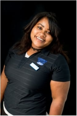 Service Cashier Keisha Layton in Service at Shawnee Mission Ford
