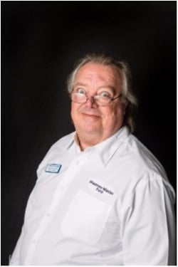 Counterperson Terry Purvis in Parts at Shawnee Mission Ford