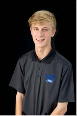 Delivery Specialist Zach Lading in Sales at Shawnee Mission Ford