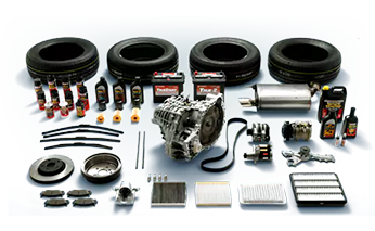 Some of the OEM Toyota parts we have for sale at Bill Dube Toyota
