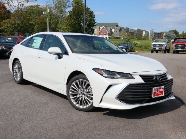 Lease this 2019, White, Toyota, Avalon, Limited