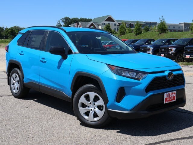 Lease this 2019, Blue, Toyota, RAV4, LE
