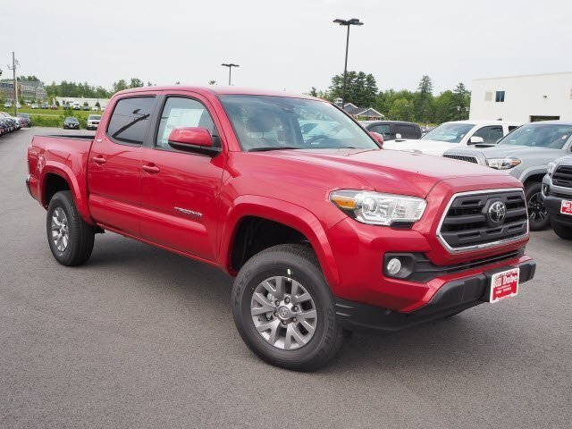 Lease this 2019, Red, Toyota, Tacoma, SR5 V6