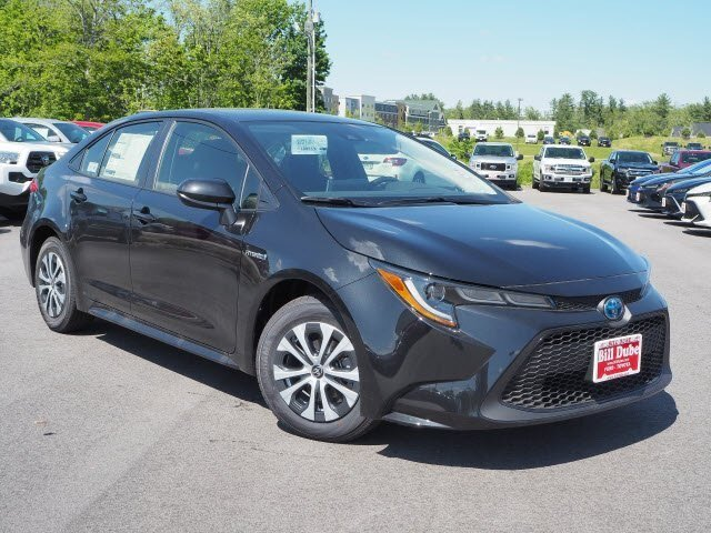 Lease this 2020, Gray, Toyota, Corolla Hybrid, LE