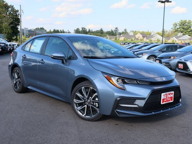 Lease this 2020, Gray, Toyota, Corolla, SE