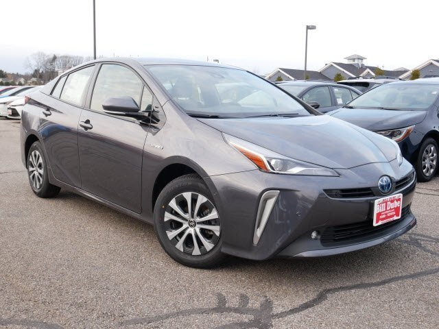 Lease this 2020, Gray, Toyota, Prius, LE