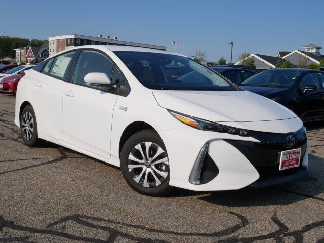 Lease this 2021, White, Toyota, Prius Prime, LE