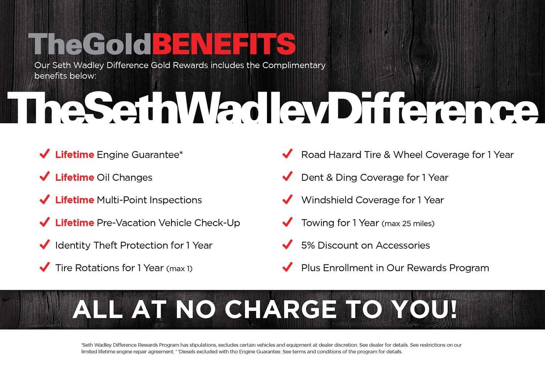 Seth Wadley Gold Benefits