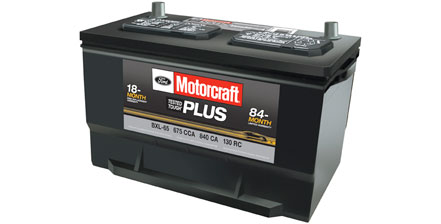 Coupon for Motocraft® Tested Tough® Plus Batteries $99.95 MSRP