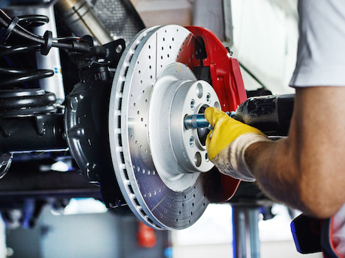 Coupon for Complete Brake Service $20 off