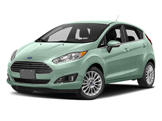 green new ford fiesta