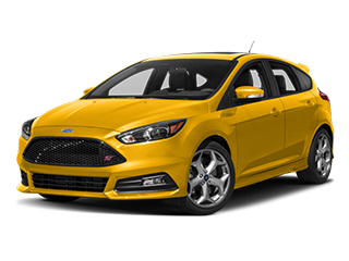 yellow ford focus