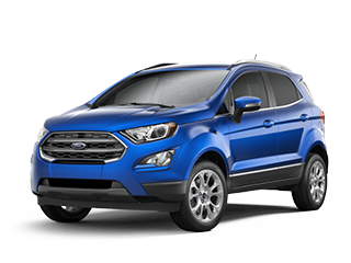 blue new ford ecosport