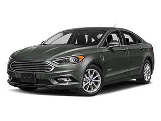 gray ford fusion energi car