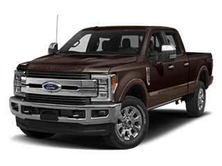 brown ford f-250 super duty pickup truck