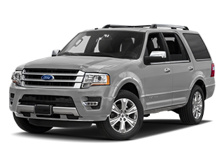 silver new ford expedition