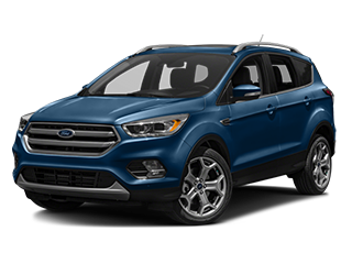 blue new ford escape