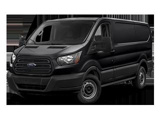 black transit van