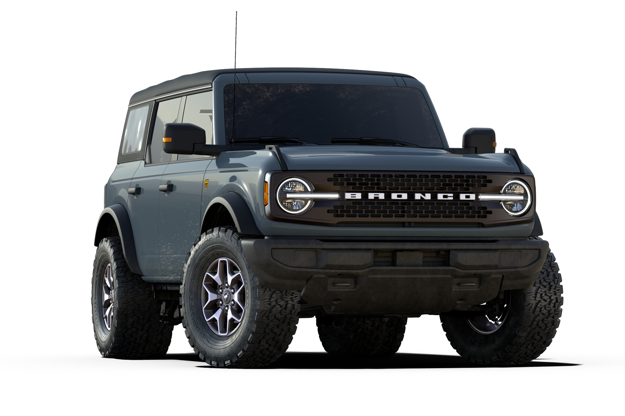 bronco badlands trim