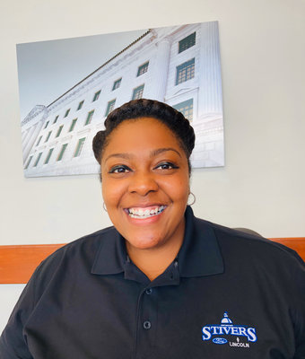 Sales & Leasing Consultant Candice Brundidge in Sales at Stivers Ford