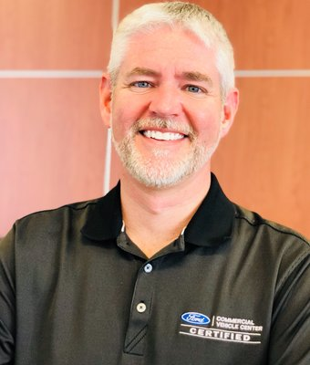Service Advisor Scott Hatter in Service Department at Stivers Ford