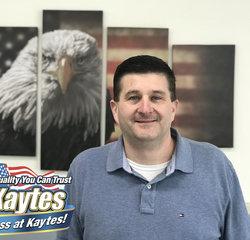 Service Advisor Joe Peruso in Service at Leo Kaytes Ford