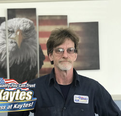 Service Technician Bob VanHouten at Leo Kaytes Ford